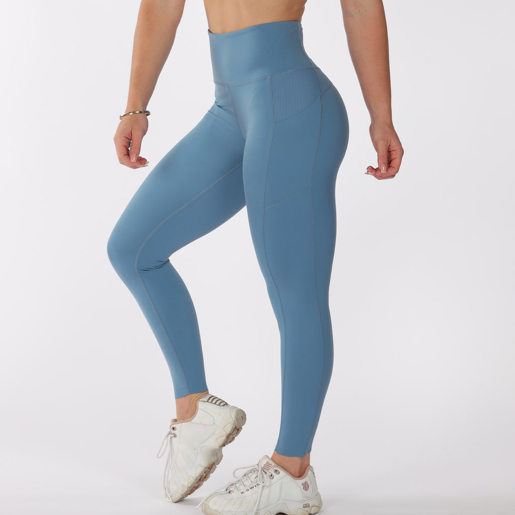 FLOW LEGGINGS - Blue