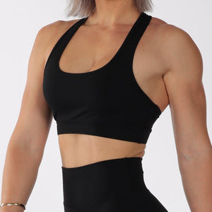 BASE CROP - BLACK