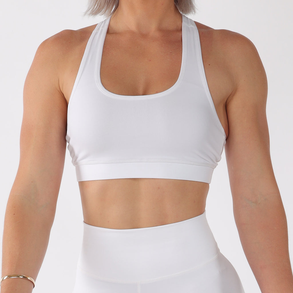 BASE CROP - WHITE