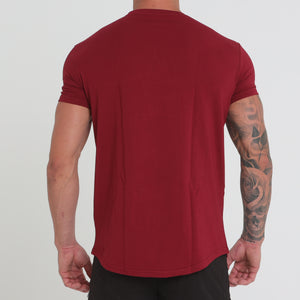 BASE T-SHIRT Burgundy