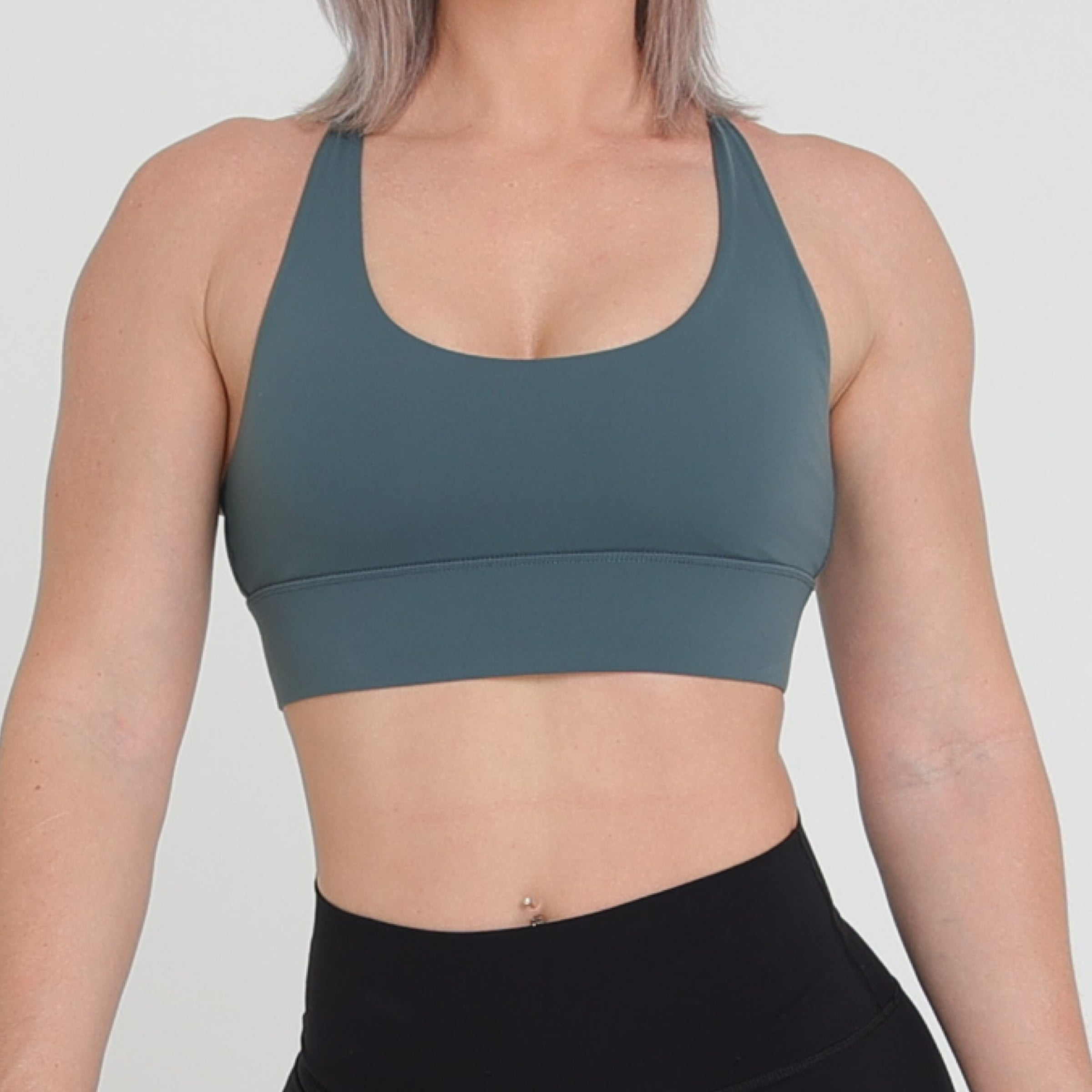 SOFIA CROP - JADE GREEN