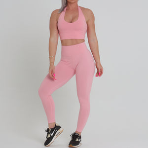 Full Length Scrunch Bum - Baby Pink