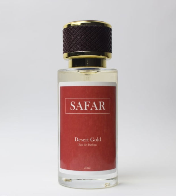 Safar Fragrances Men's Desert Gold Perfume | Floral Perfumes