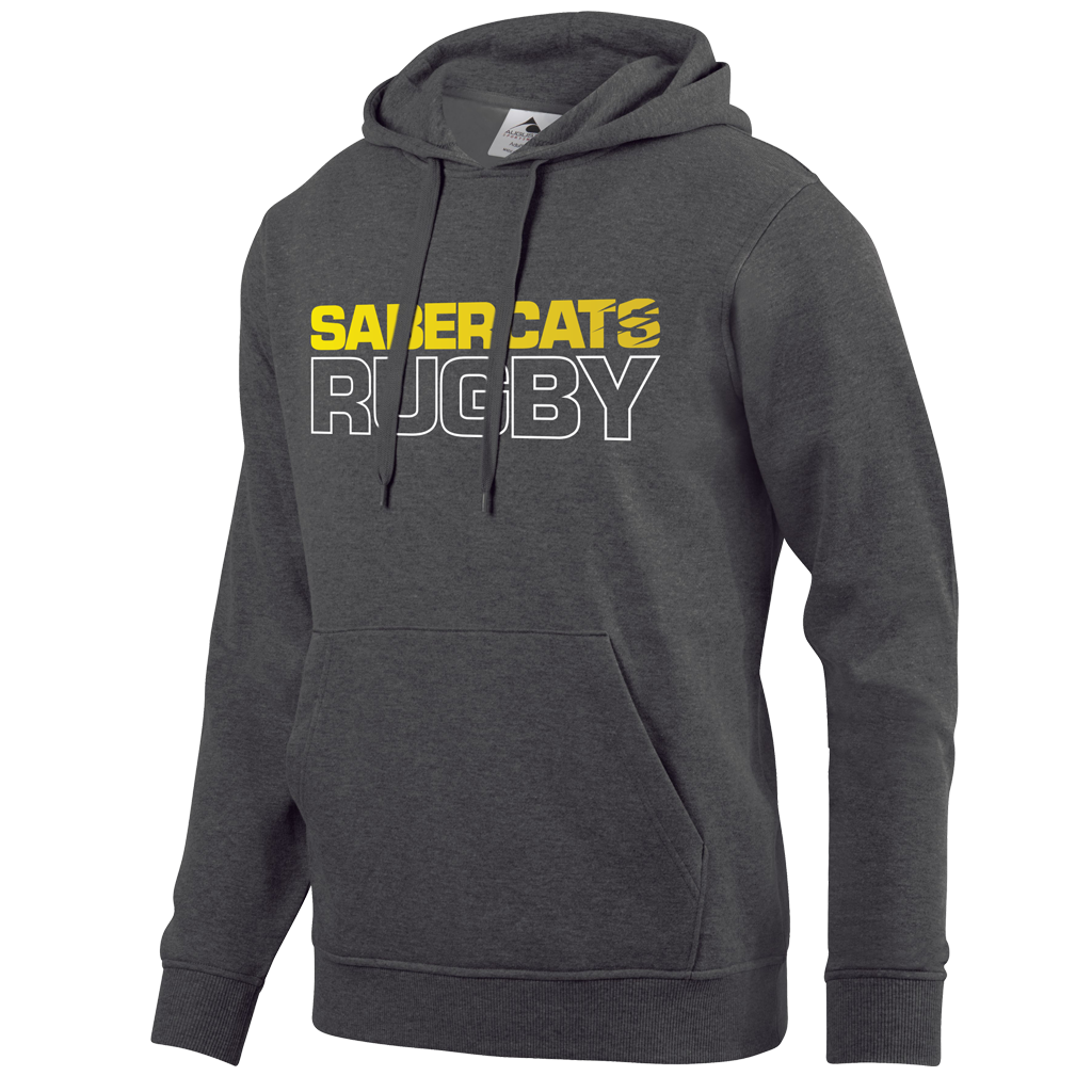 Houston Sabercats 2021 Graphic Hoodie - Adult Unisex Charcoal Grey - SHOPMLR.COM