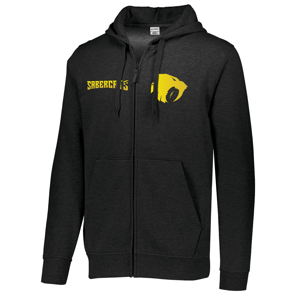 Houston Sabercats 2021 Full Zip Hoodie - Adult Unisex - SHOPMLR.COM