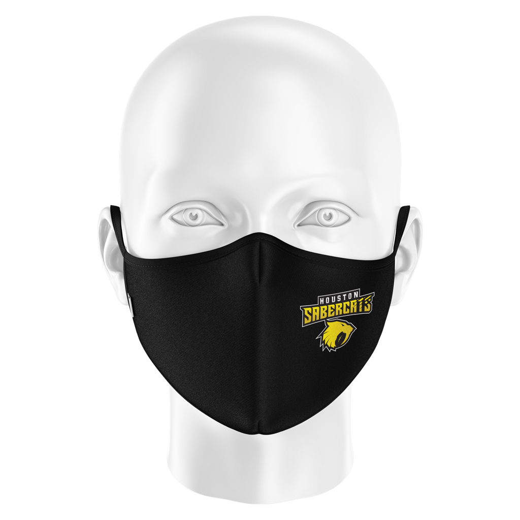 Houston Sabercats 2021 Face Mask