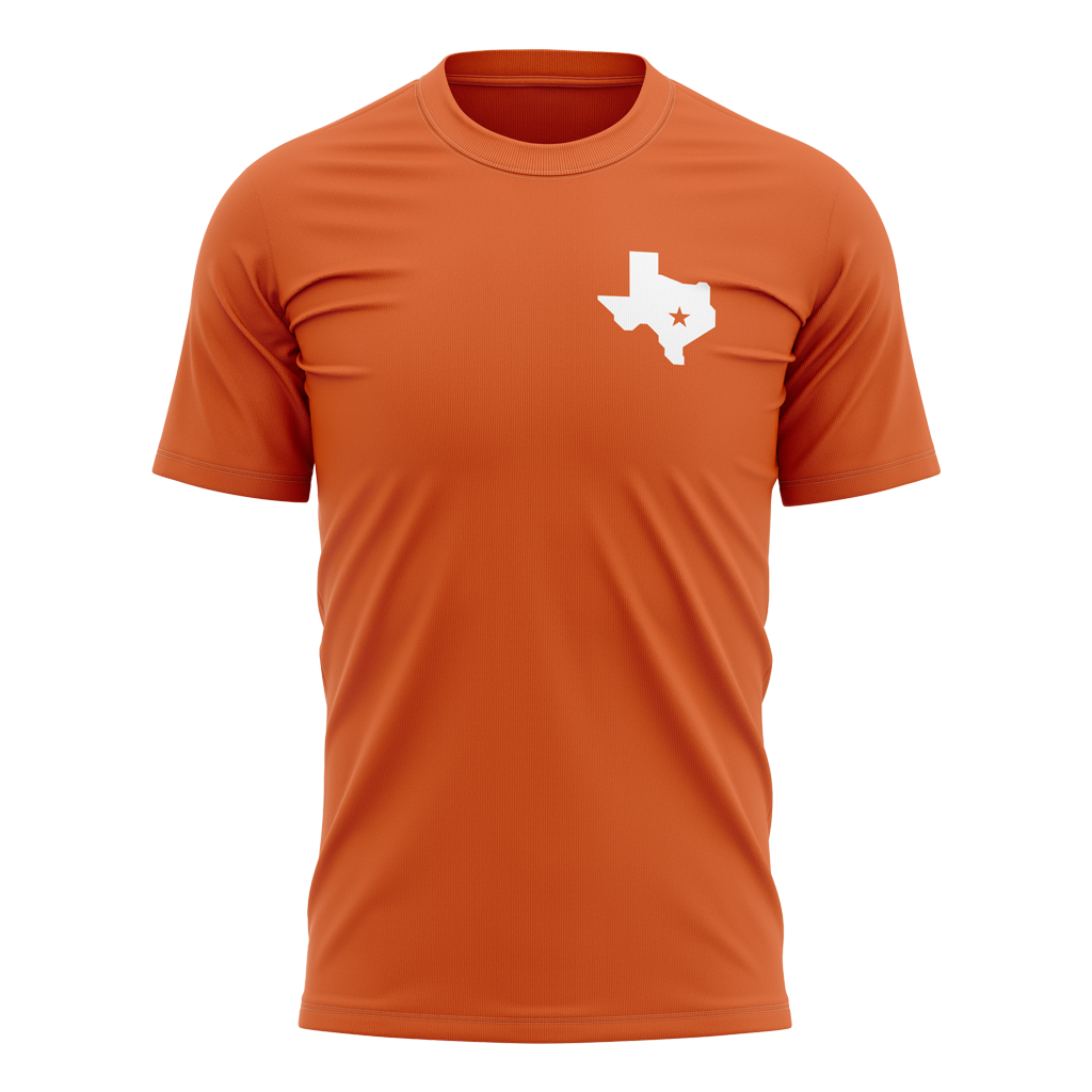 "AG Rugby 2021 ""We are AG"" Tee - Unisex Texas Orange - GAMEDAY"