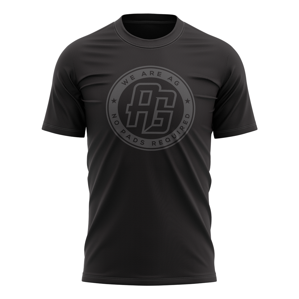 AG Rugby 2021 Stealth Tee - Men's - GAMEDAY