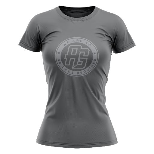 AG Rugby 2021 Tee - Women's Metal Grey - SHOPMLR.COM