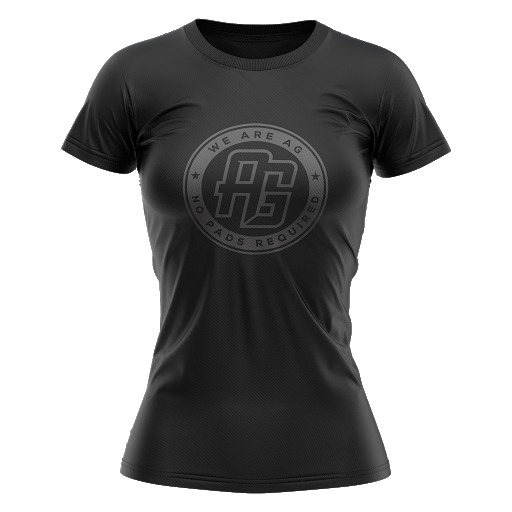AG Rugby 2021 Stealth Tee - Women's - GAMEDAY