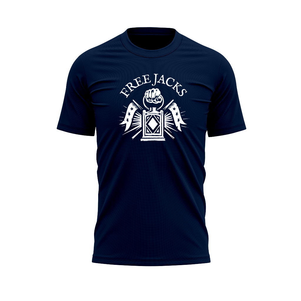 New England Free Jacks 2020 Graphic Tee - Men's Navy