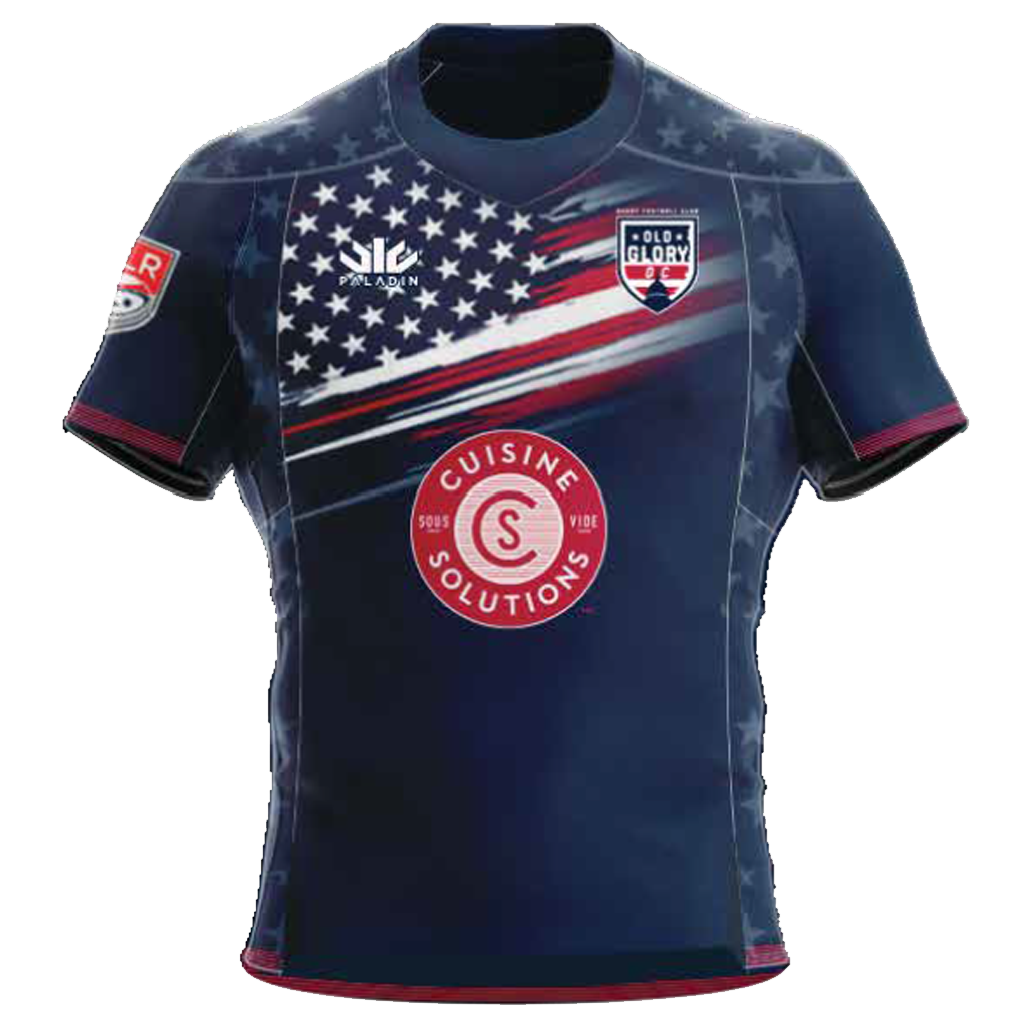 Old Glory DC 2021 Home Replica Jersey - Adult Unisex
