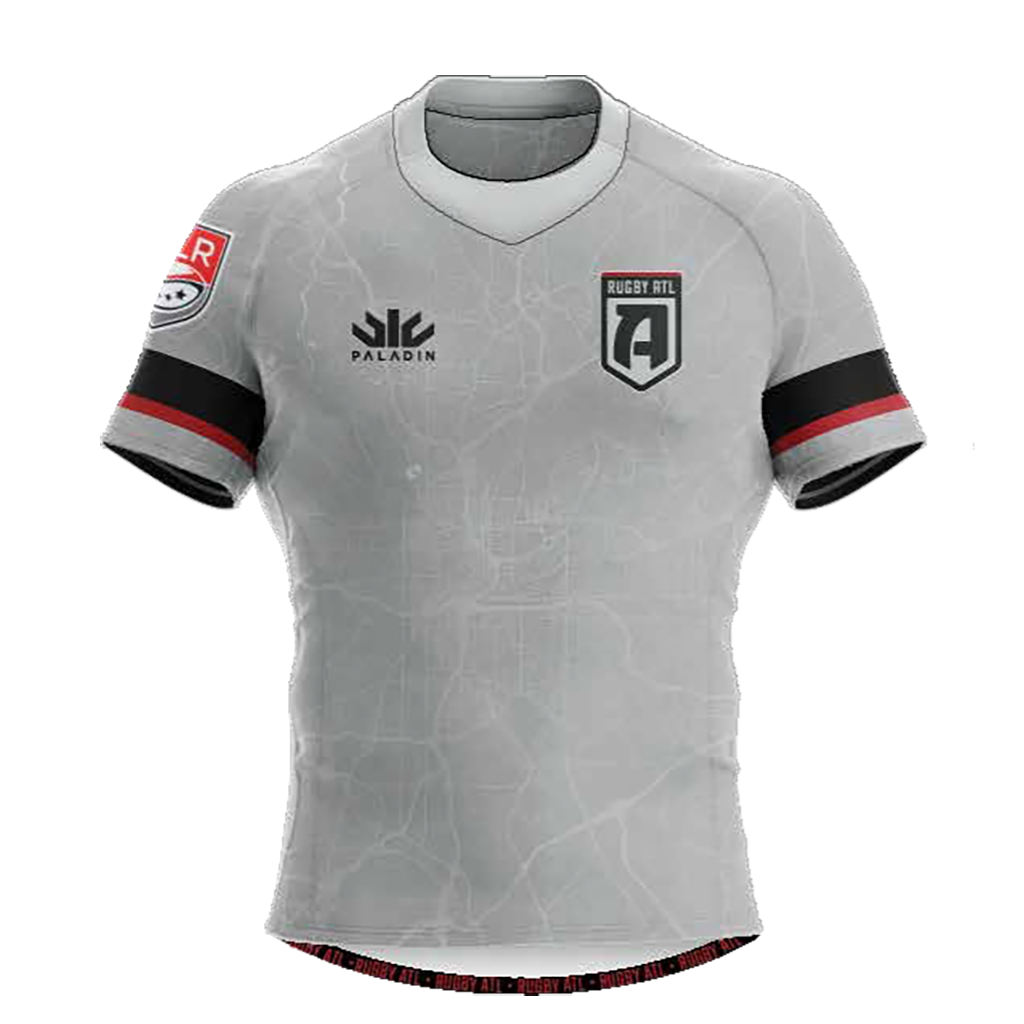 Rugby ATL 2020 Replica Match Jersey - Men's Silver - SHOPMLR.COM