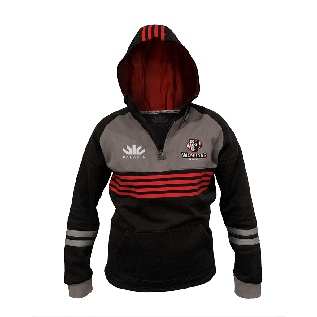 Utah Warriors 2020 1/4 Zip Fleece Hoodie - Adult Unisex - SHOPMLR.COM