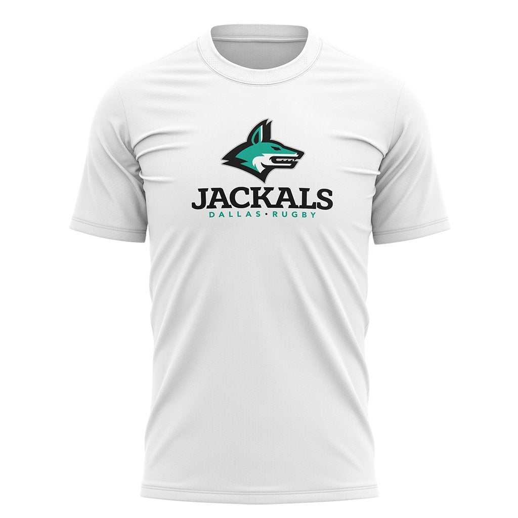 Dallas Jackals Logo Tee - Youth White - SHOPMLR.COM