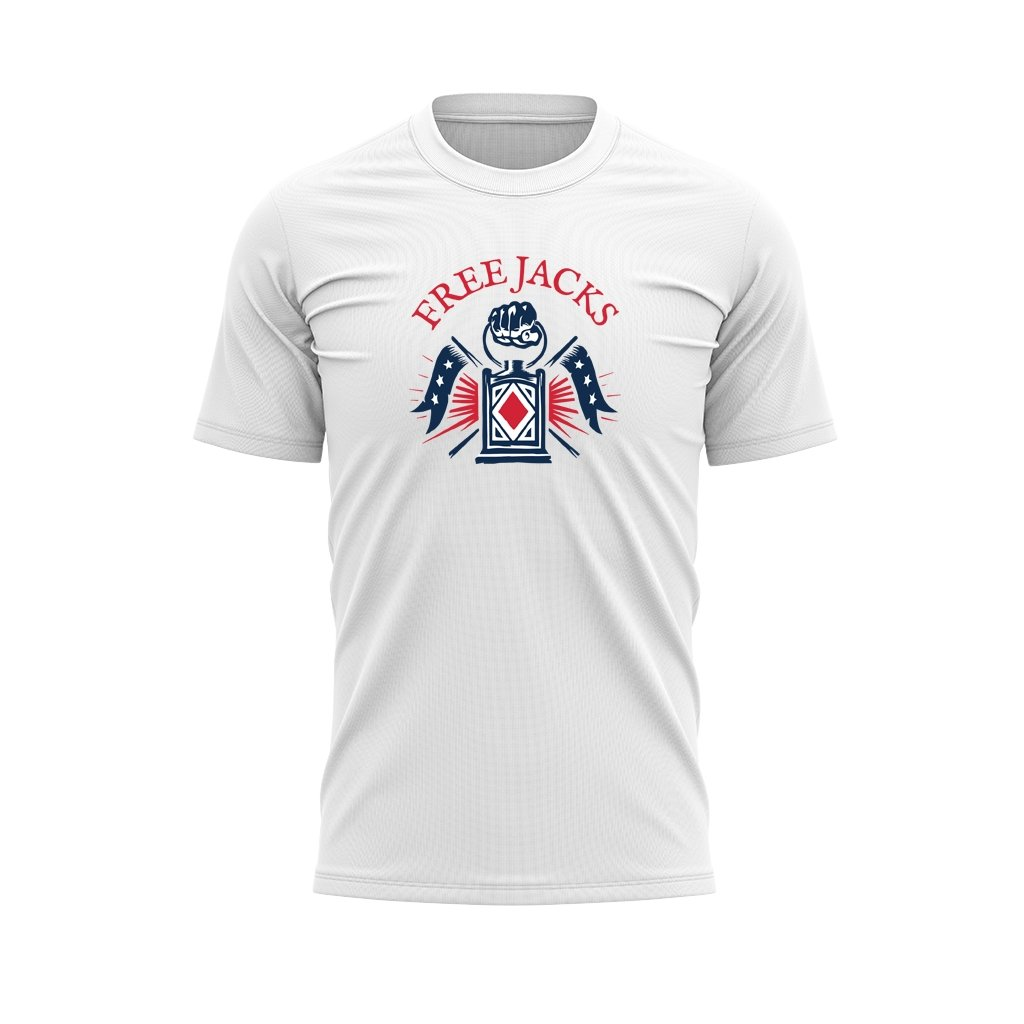 New England Free Jacks Graphic Tee - White - www.therugbyshop.com