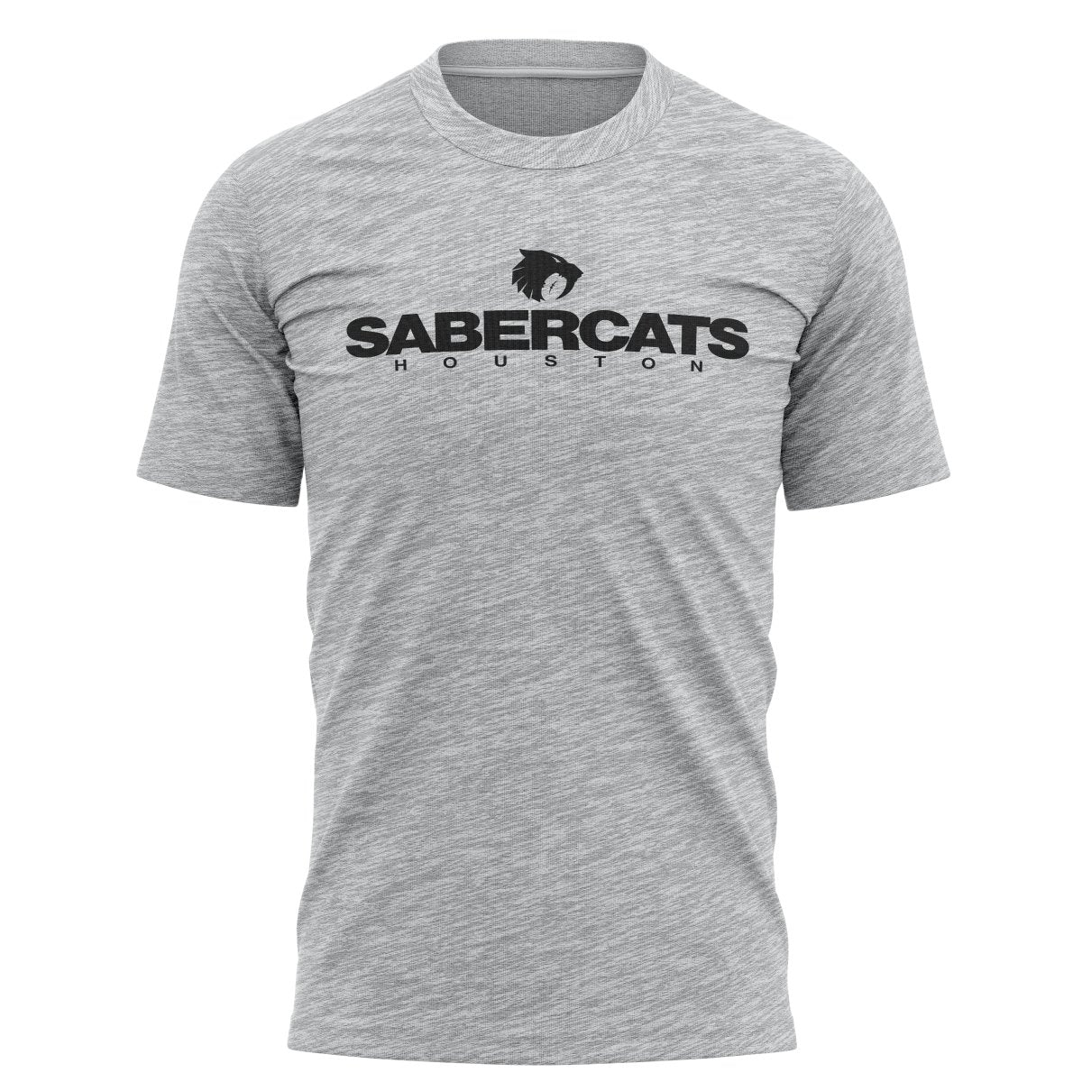 Houston Sabercats Graphic Tee - Gray - www.therugbyshop.com