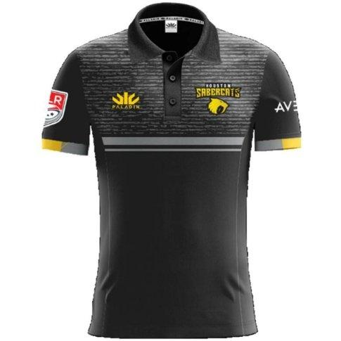 Houston Sabercats Men's Polo - www.therugbyshop.com