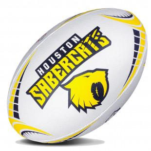 Major League Rugby Replica Ball - Houston Sabercats - www.therugbyshop.com