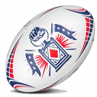 Major League Rugby Replica Ball - New England Free Jacks - www.therugbyshop.com