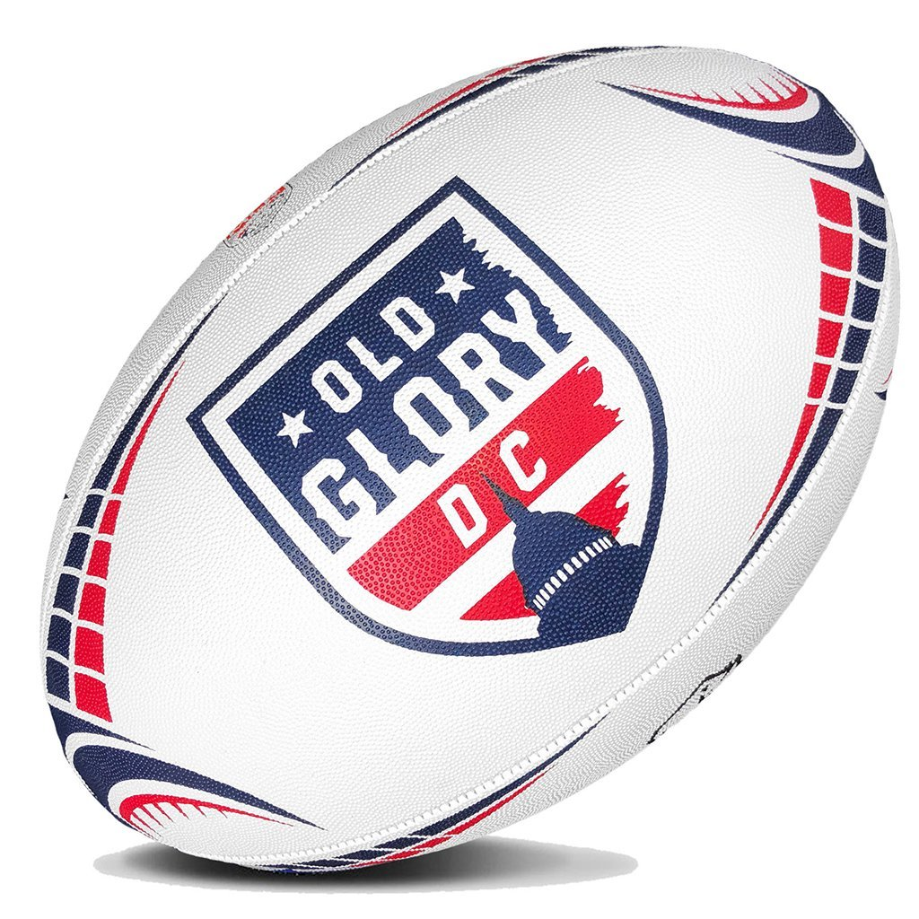 Major League Rugby Replica Ball - Old Glory DC - www.therugbyshop.com