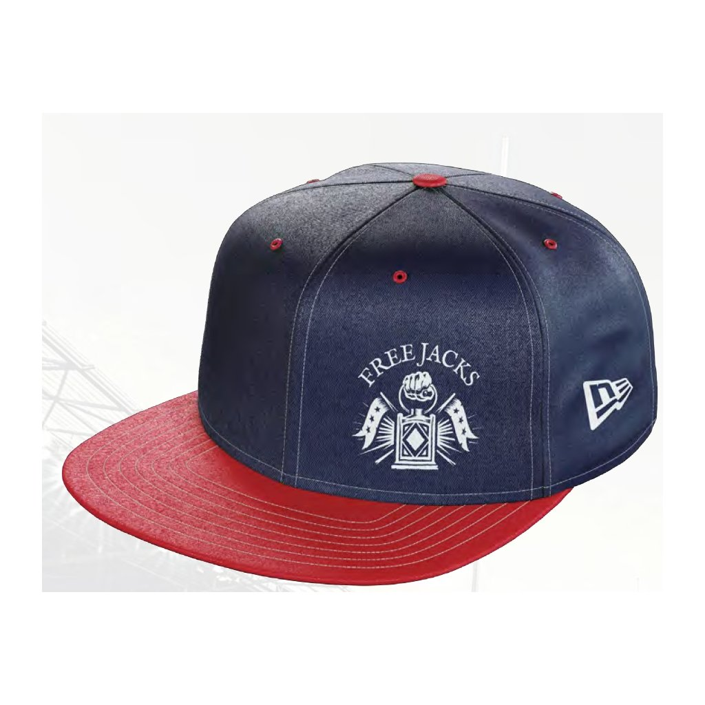 New England Free Jacks 2021 Snap Back Flat Cap - www.therugbyshop.com