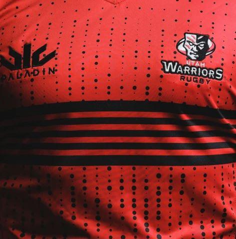 Utah Warriors 2020 Replica Jersey - RELOADED RED - www.therugbyshop.com