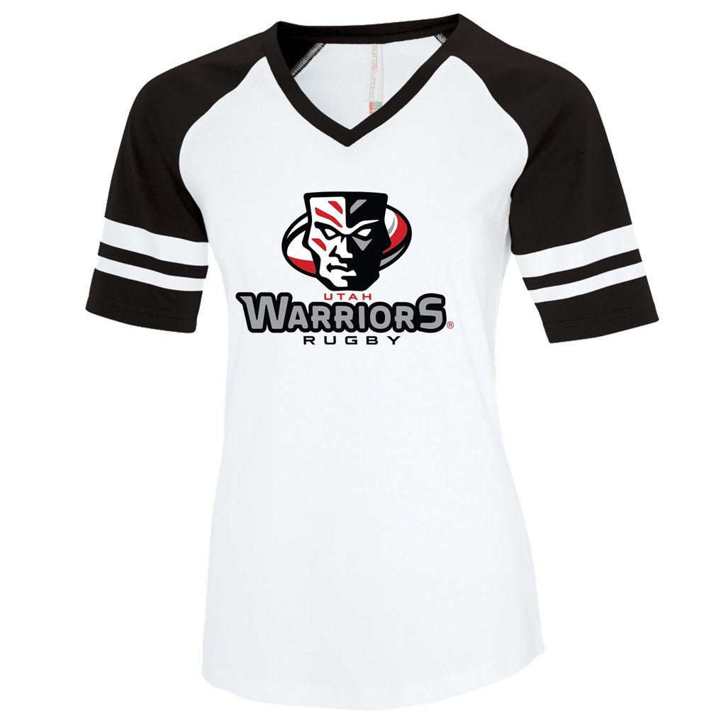 Utah Warriors 2021 Baseball Tee - Women's - www.therugbyshop.com