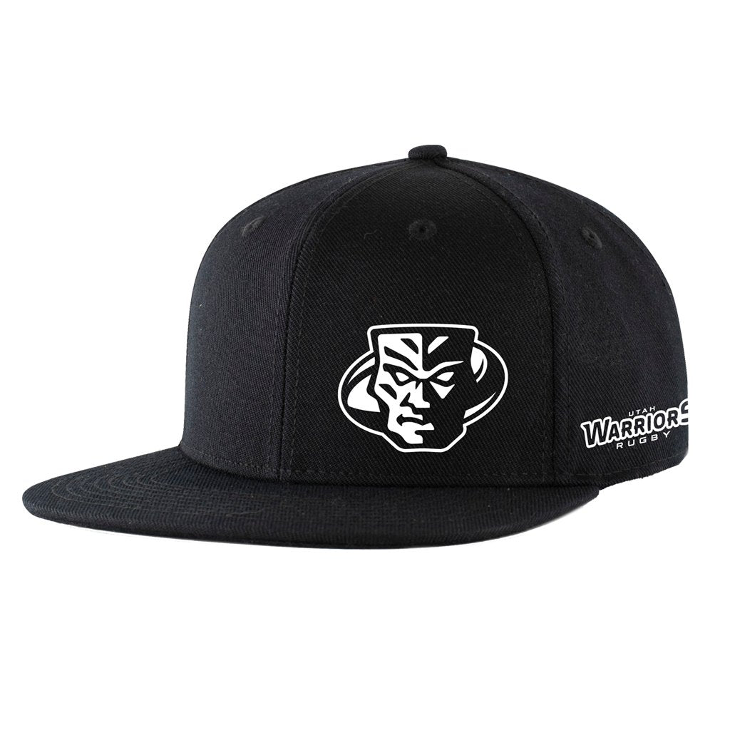 Utah Warriors 2021 Black Flat Brim Hat - www.therugbyshop.com