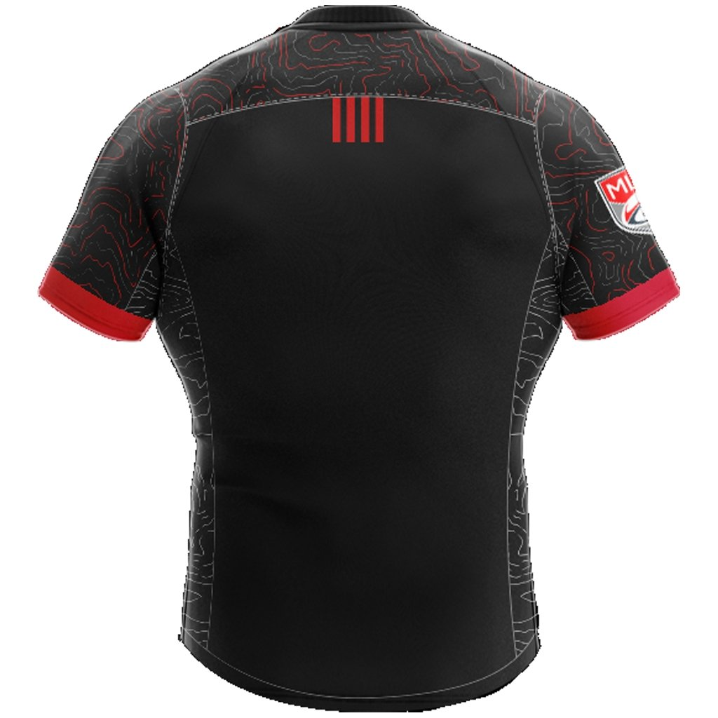 Utah Warriors 2021 Home Replica Jersey - Adult Unisex - www.therugbyshop.com