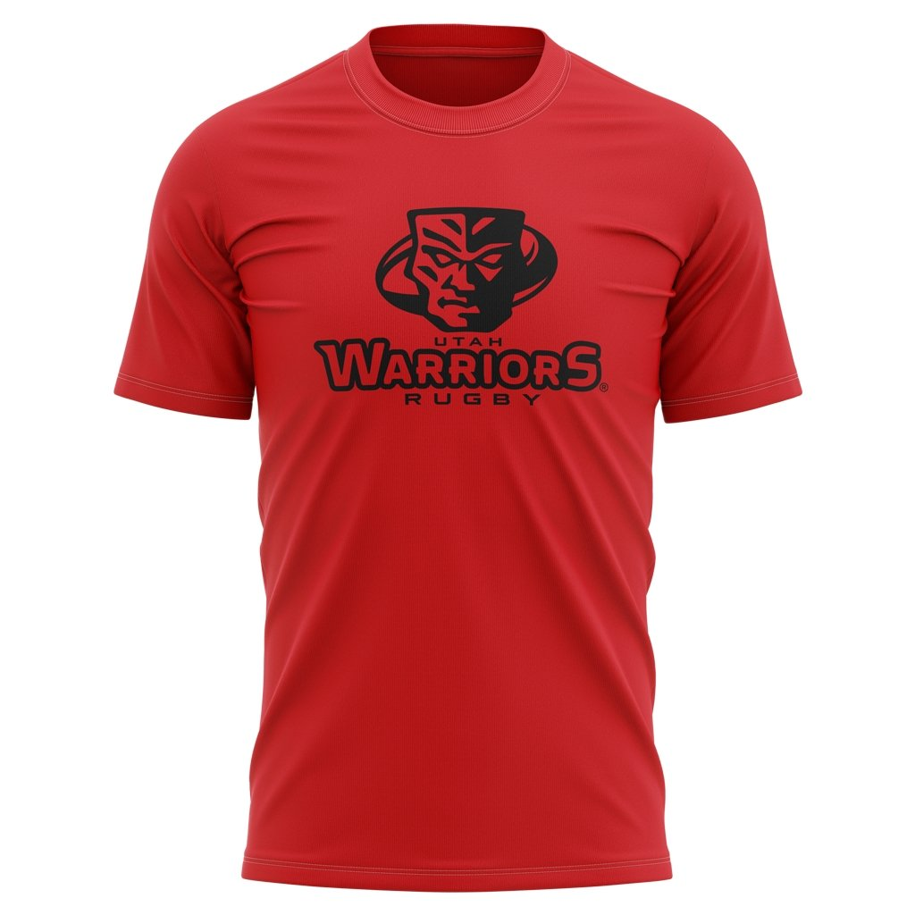 Utah Warriors 2021 Tee - Youth Red - www.therugbyshop.com