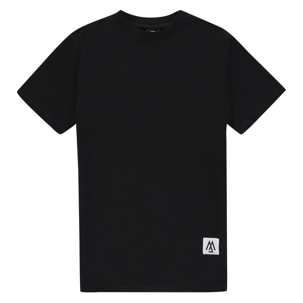 WORLD COLLECTION BACK LOGO BLACK TEE