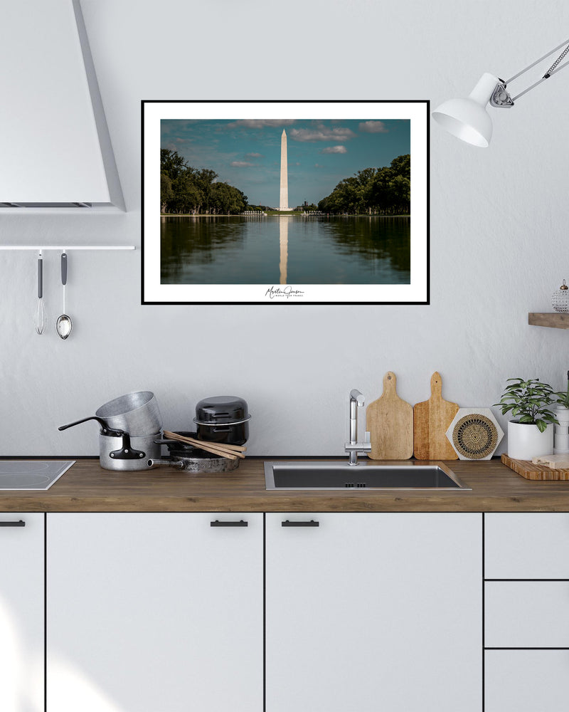 Martin Jensen World Tour Frames // Washington Monument