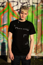 Load image into Gallery viewer, BLACK GRAPHIC TEE