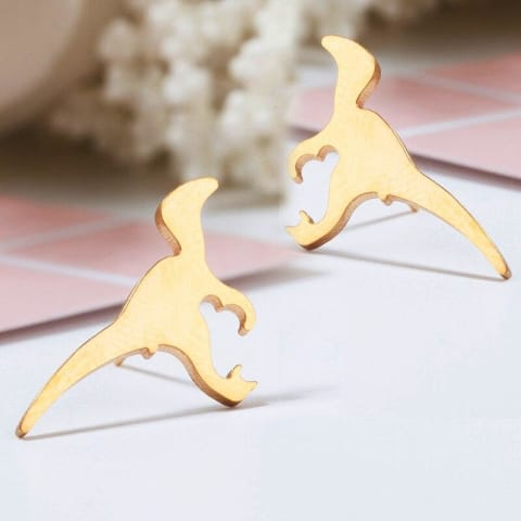dinosaur-earrings-dino-gold-silver