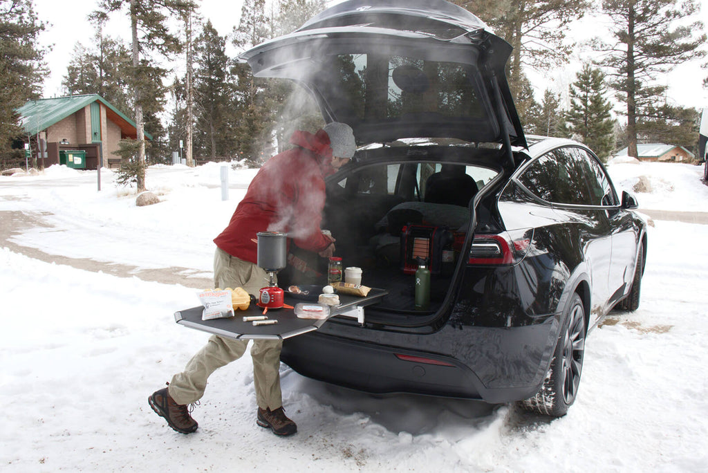 Field guide to EV and gas SUV auto camping (101)