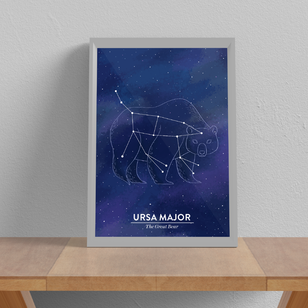 Ursa Major Juliste A3