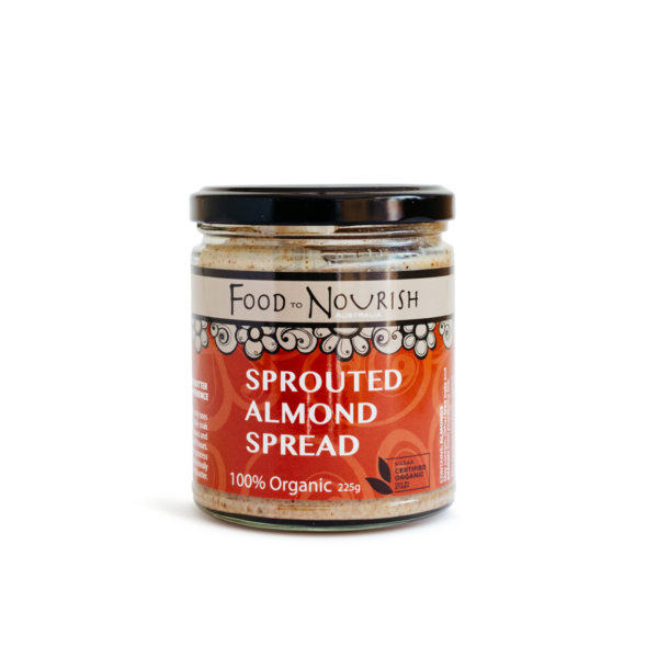 Sprouted Almond Spread by Food to Nourish