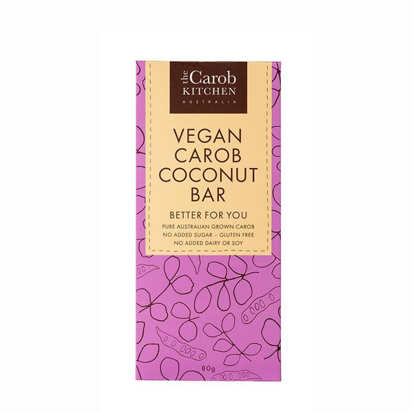 Carob Bar Vegan- Coconut