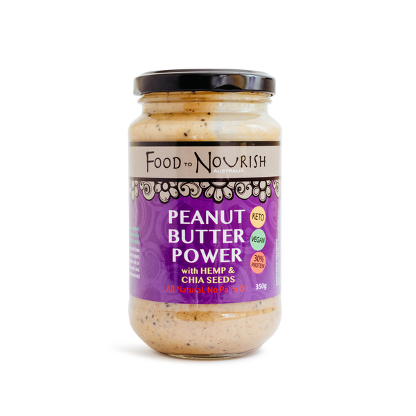 Peanut Butter Power by Food to Nourish