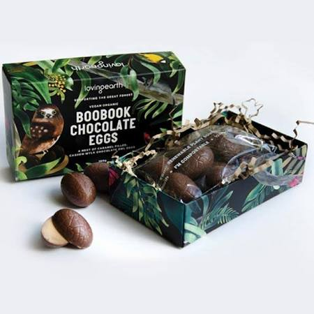 Bookbook Chocolate Eggs 95gm