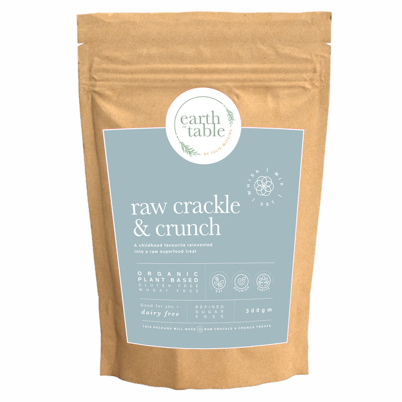 Raw Crackle and Crunch