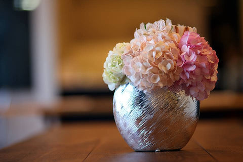 Center piece: Romantic hydrangea