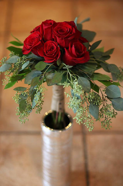 Hand tied bouquet: Toscana