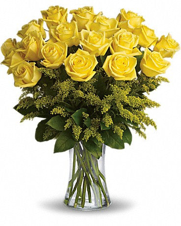 Golden Rosy Glow Bouquet