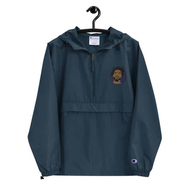 Jcole Embroidered Champion Packable Jacket