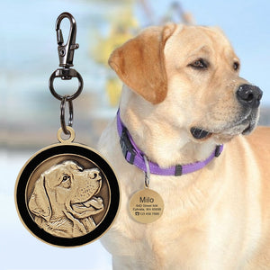 Personalized Dog/Cat ID Tag