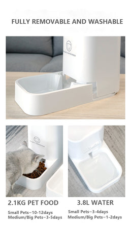 Automatic Feeder/Water Dispenser for Pet Dog/ Cat