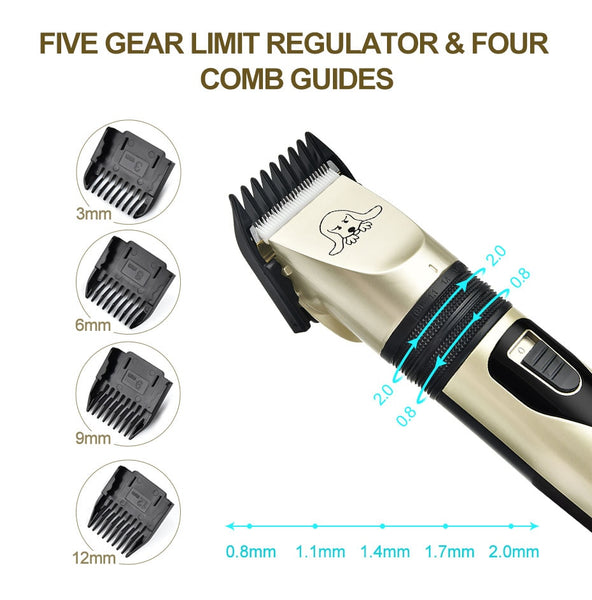 USB Re-chargeable Pet Hair Clipper/ Trimmer