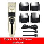 Load image into Gallery viewer, USB Re-chargeable Pet Hair Clipper/ Trimmer